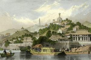 Imperial Palace Gardens by Thomas Allom