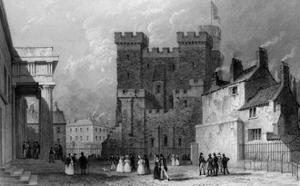Newcastle Upon Tyne by Thomas Allom