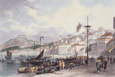 Pria Grande, Macao, C.1850 by Thomas Allom