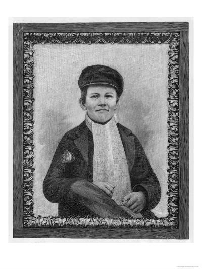Thomas Alva Edison as a Boy--Giclee Print