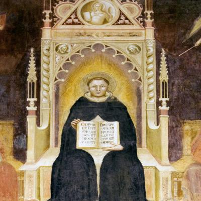 Thomas Aquinas, Italian Priest-Sheila Terry-Photographic Print