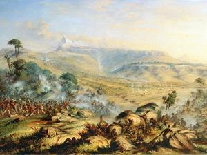 The Hog's Back or a Great Peak of the Amatola-British-Kaffraria by Thomas Baines