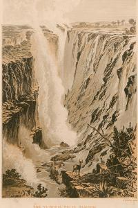 The Victoria Falls by Thomas Baines