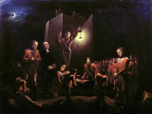 The Burial of Sir John Moore at La Coruna, 1809 by Thomas Ballard