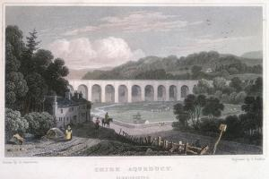 Chirk Aqueduct on the Ellesmere Canal, C1829 by Thomas Barber