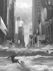 Swell Time in Town by Thomas Barbey