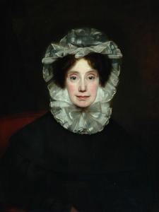 Anne Lister, 1833 by Thomas Binns