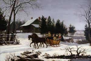 Sleigh Ride by Thomas Birch