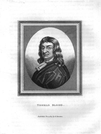 'Thomas Blood', (1817)-Unknown-Giclee Print