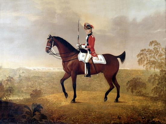 Thomas Boothby Parkyns (1755-1800) 1780-John Boultbee-Giclee Print