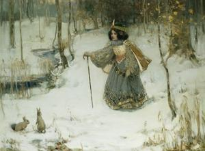 The Snow Queen by Thomas Bromley Blacklock