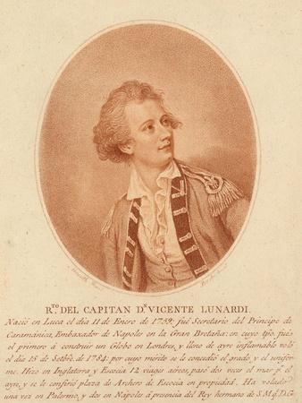 Vincente Lunardi, C.1786-1800