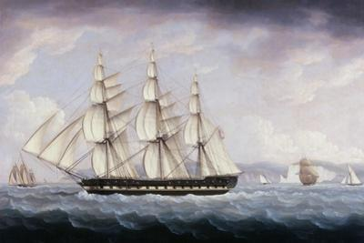 The London Off the Seven Sisters by Thomas Buttersworth
