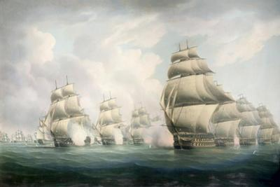 The Start of the Action by Thomas Buttersworth