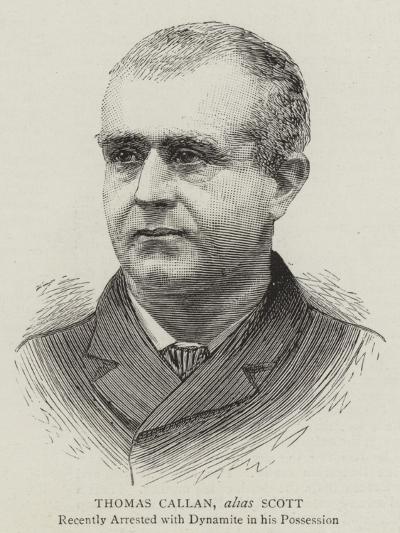 Thomas Callan, Alias Scott--Giclee Print