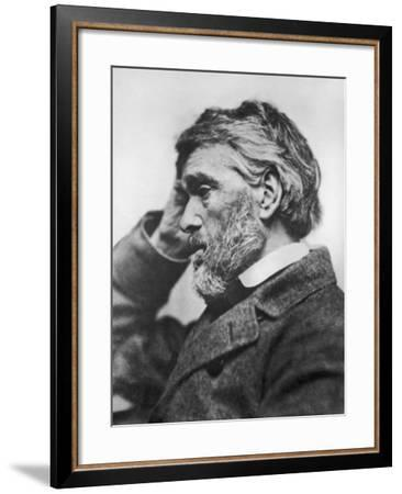 Thomas Carlyle (1795-1881)--Framed Photographic Print