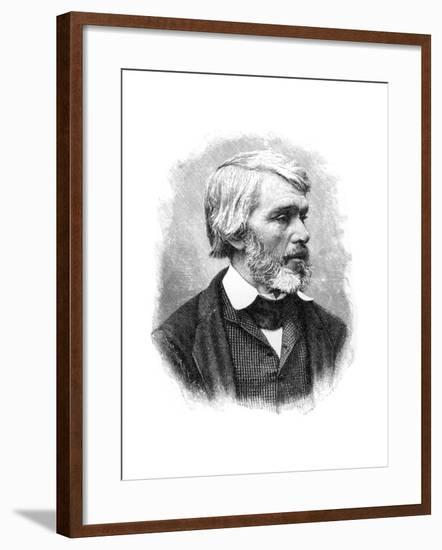 Thomas Carlyle, 19th Century Scottish Essayist, Satirist, and Historian--Framed Giclee Print