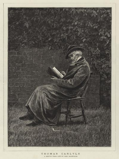 Thomas Carlyle--Giclee Print