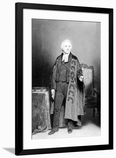 Thomas Chalmers, Engraved by James Faed, 1849-John Faed-Framed Giclee Print