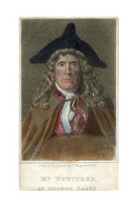 Mr Wewitzer as Doctor Caius, 1819 by Thomas Charles Wageman