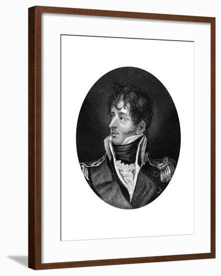 Thomas Cochrane (1775-186), 10th Earl of Dundonald, 1837--Framed Giclee Print