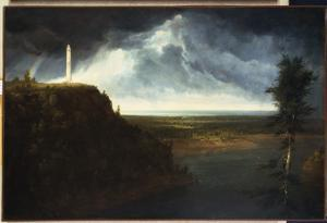 Brock's Monument by Thomas Cole