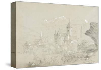 Castle of Spiez, 1841