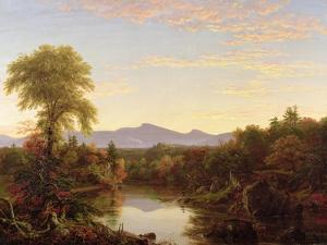 Catskill Creek, New York, 1845 by Thomas Cole
