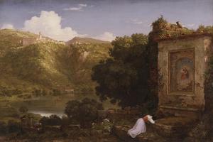 Il Penseroso, 1845 by Thomas Cole