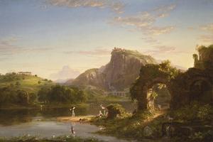 L'Allegro, 1845 by Thomas Cole