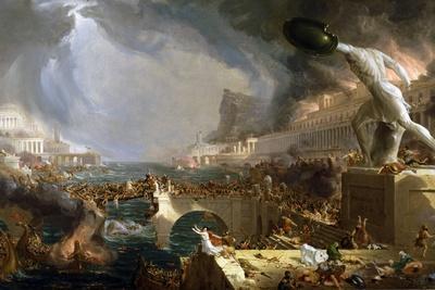 The Course of Empire - Destruction