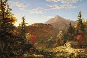 The Hunter's Return by Thomas Cole