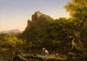 The Mountain Ford, 1846 by Thomas Cole