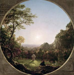 The Solitary Cross, 1845 by Thomas Cole