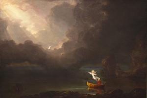 The Voyage of Life: Old Age, 1842 by Thomas Cole