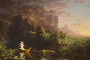 The Voyage of Life: Youth, 1842 by Thomas Cole