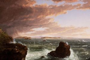 View across Frenchman's Bay from Mt. Desert Island, after a Squall, 1845 by Thomas Cole