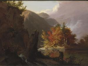 View in Kaaterskill Clove, 1826 by Thomas Cole