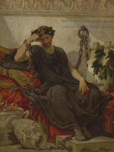 Damocles, 1867 by Thomas Couture