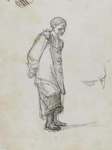 Etude pour le duel : Pierrot by Thomas Couture