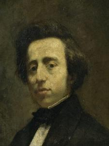 Fréderic Chopin (1810-1849), musicien by Thomas Couture