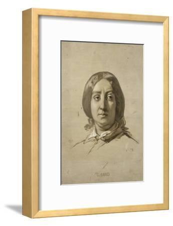 George Sand (1804-1876), écrivain - esquisse