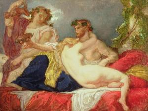 Horace and Lydia by Thomas Couture