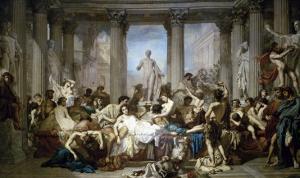 Les Romains de la Decadence by Thomas Couture