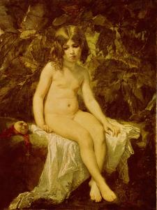 Little Bather, 1849 by Thomas Couture