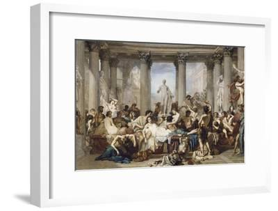 Romans During the Decadence, 1847