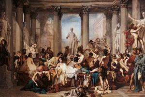 Romans of the Decadence by Thomas Couture