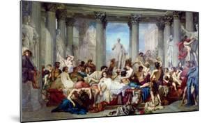 The Romans of the Decadence, 1847 by Thomas Couture