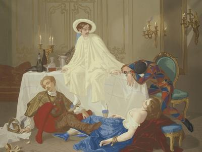 The Supper after the Masked Ball, C.1855