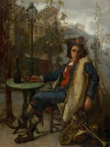 Young Italian Street Musician, C.1877 by Thomas Couture